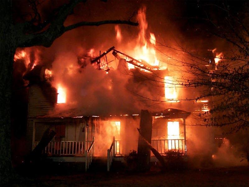 В Кугарчинском районе Башкирии сгорели 2 человека